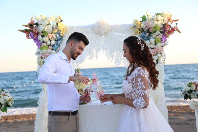 Civil Marriage Ceremony for Australian couple by Wedding City Antalya - 013