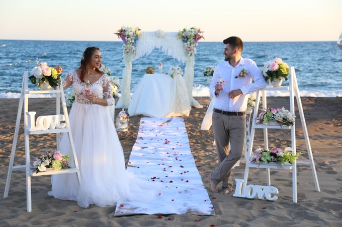 Civil Marriage Ceremony for Australian couple by Wedding City Antalya - 015