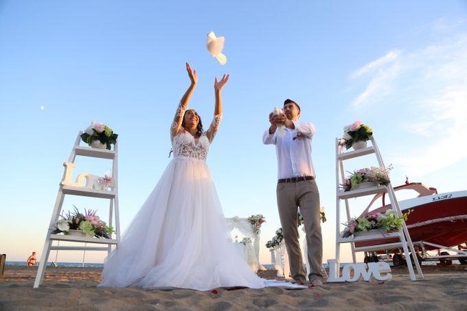 Civil Marriage Ceremony for Australian couple by Wedding City Antalya - 016