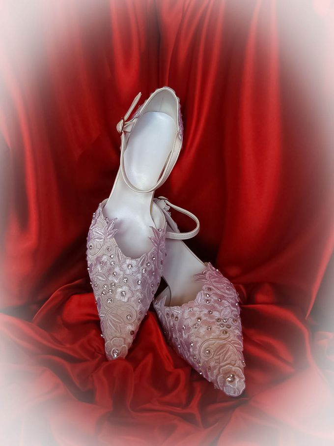 BRIDAL SHOES by Pamela Falli - 001