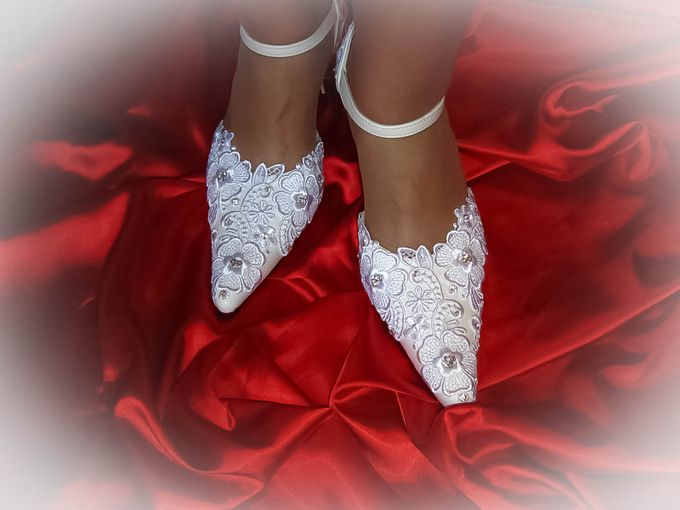 BRIDAL SHOES by Pamela Falli - 021