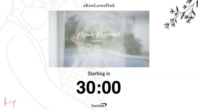 Kenneth & Pingky Virtual Online Wedding Live Streaming Holy Matrimony by Truevindo - 002