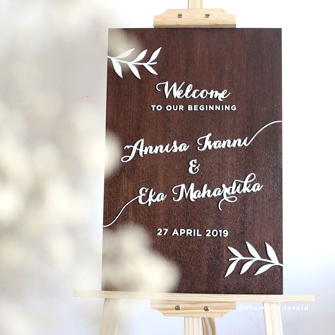 Wedding Sign by The White Dove - 001