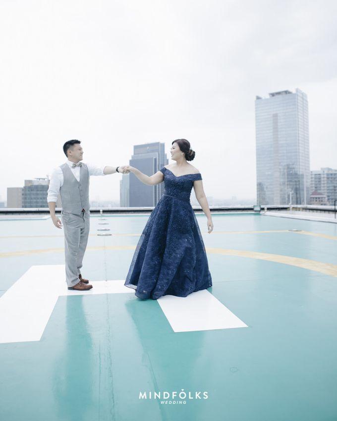 Johana dan Long by MERCANTILE PENTHOUSE WEDDING - 001