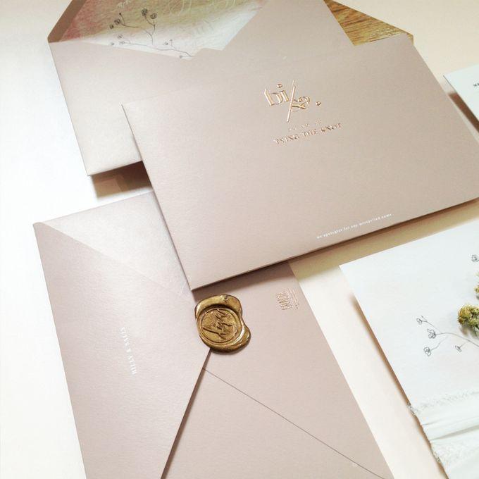 Billy & Sally Wedding Invitation by Khayangan Estate - 004