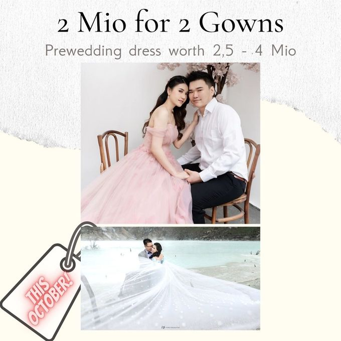 2 juta 2 Gown (Promo October) by iLook ( Makeup & Couture ) - 001
