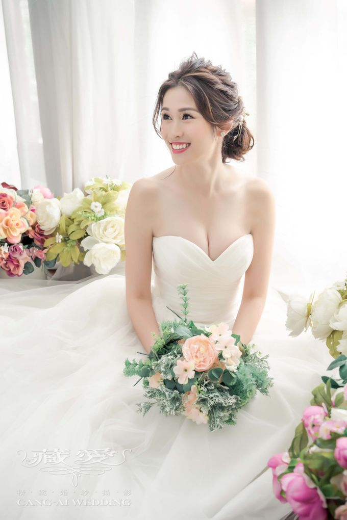 Makeup and Styling of our Brides by Cang Ai Wedding - 026