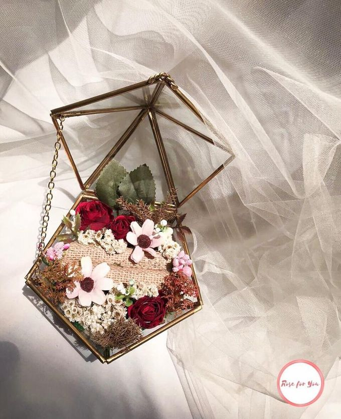 Ring Box by Rose For You - 001