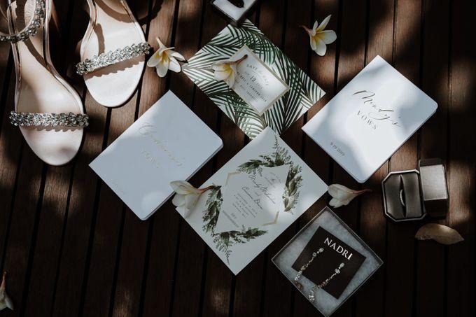 Mindy & Cameron Wedding at W Hotel Bali by AKSA Creative - 001