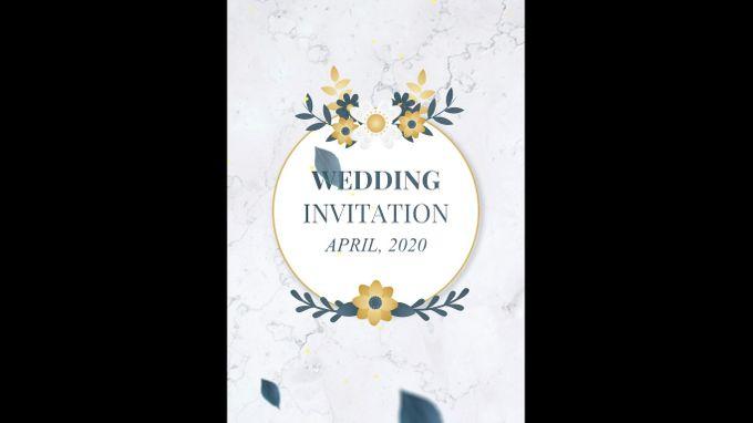 Undangan digital video pernikahan invitation 0203 by ADSA INVITATION - 001