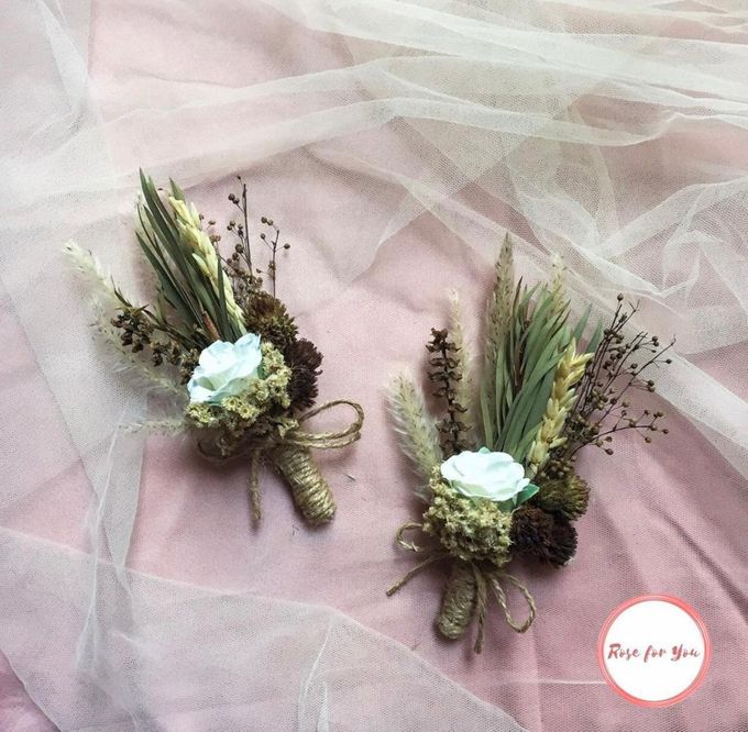 Boutonniere & Corsage by Rose For You - 001