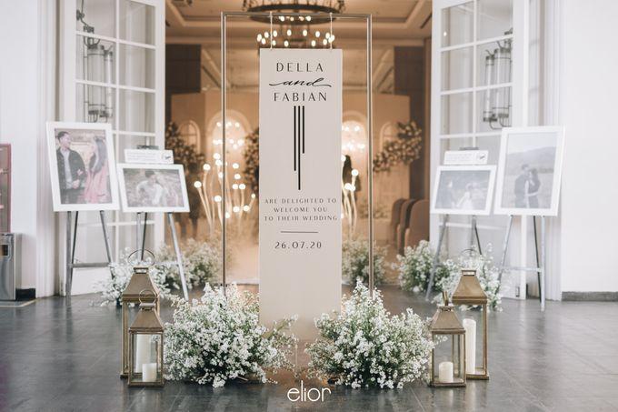 The Wedding Of Della and Fabian by Elior Design - 008