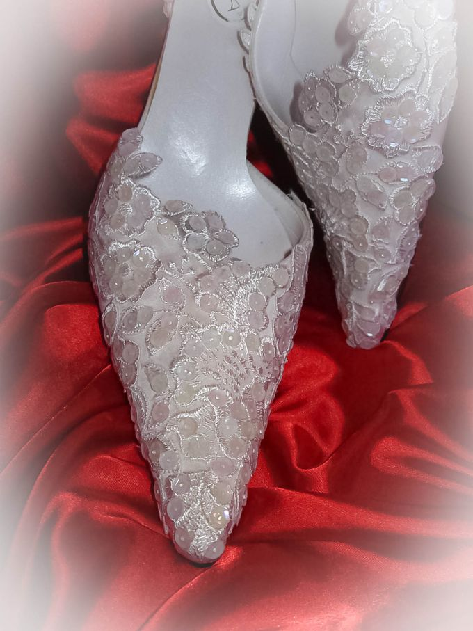 BRIDAL SHOES by Pamela Falli - 002