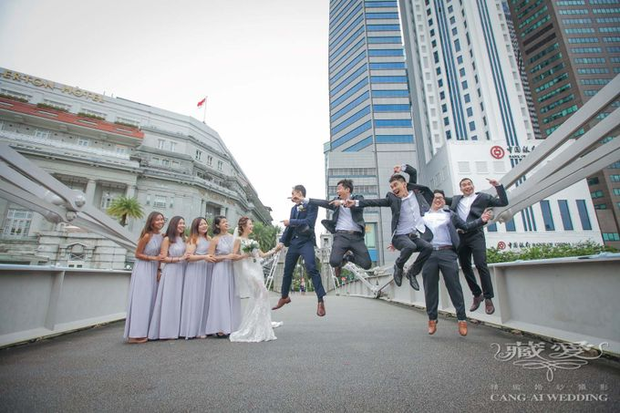 Actual Day by Cang Ai Wedding - 019