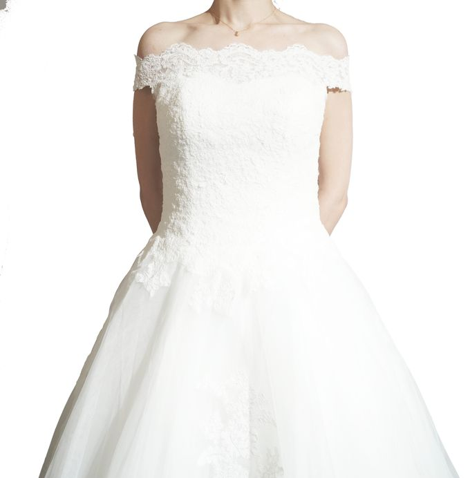 Bridal Gown by TomoSunyc Trading Inc - 003
