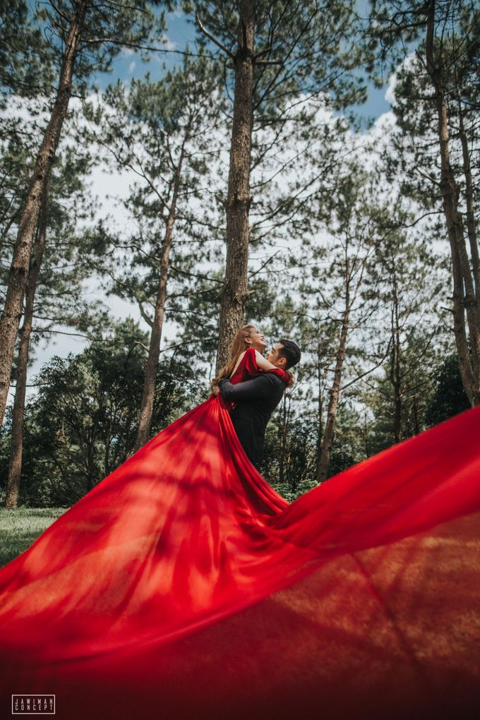 Fred and Rhegs Prenup Photo Session at Munting Gubat Tanay Rizal by The Jawiman Concept - 001