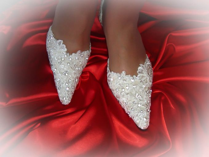 BRIDAL SHOES by Pamela Falli - 036