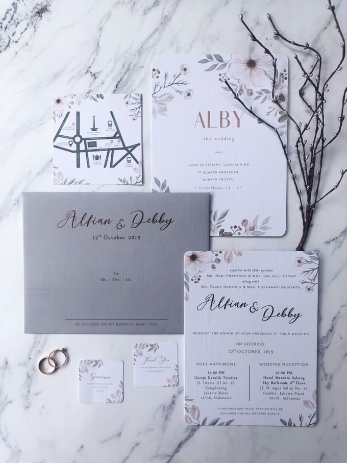 The Wedding of Alfian & Debby by SentimeterCard - 001