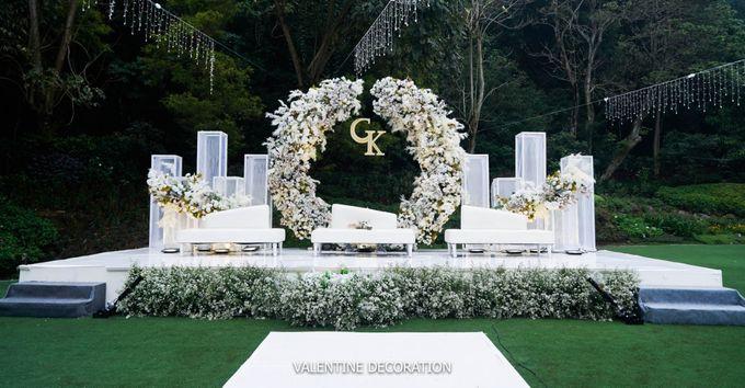 Grady & Kezia Wedding Decoration by Valentine Wedding Decoration - 001