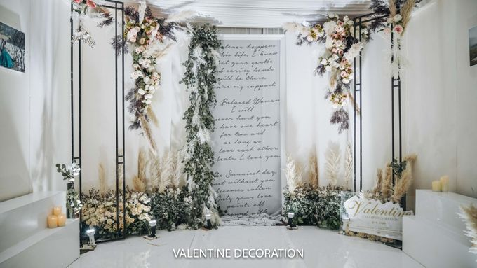 Yuri & Jessica Wedding Decoration by Valentine Wedding Decoration - 001
