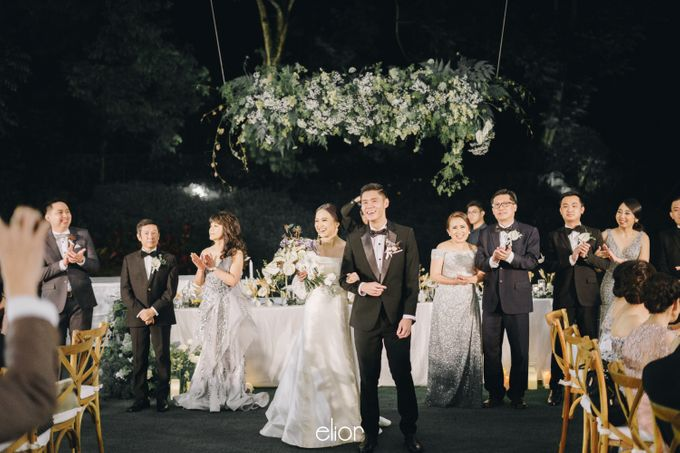 The Wedding Of David & Felicia by Elior Design - 021