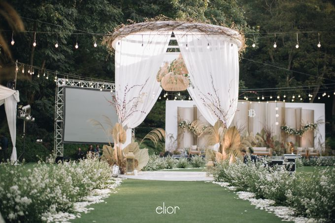 The Wedding of Budiman and Eunike by Elior Design - 010