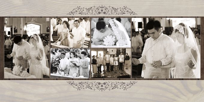 Wedding Album Lay-out by CJC PHOTOGRAPHY ASIA CORPORATION - 004