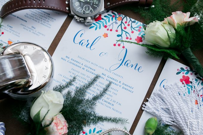 Blue Themed Wedding of CJ  and  Jane by Peach Frost Studio - 005