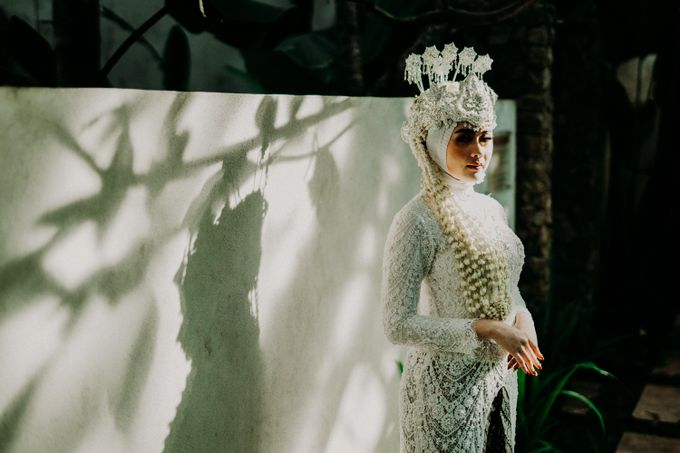 Dheafina & Nur Wedding at Azila Villa by AKSA Creative - 010