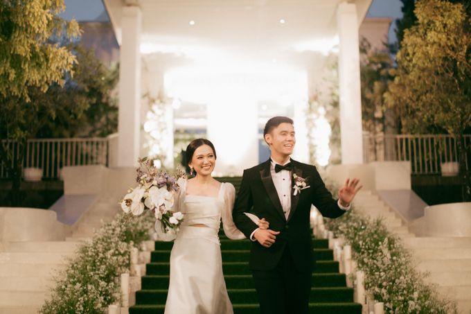 The Wedding Of David & Felicia by Elior Design - 023