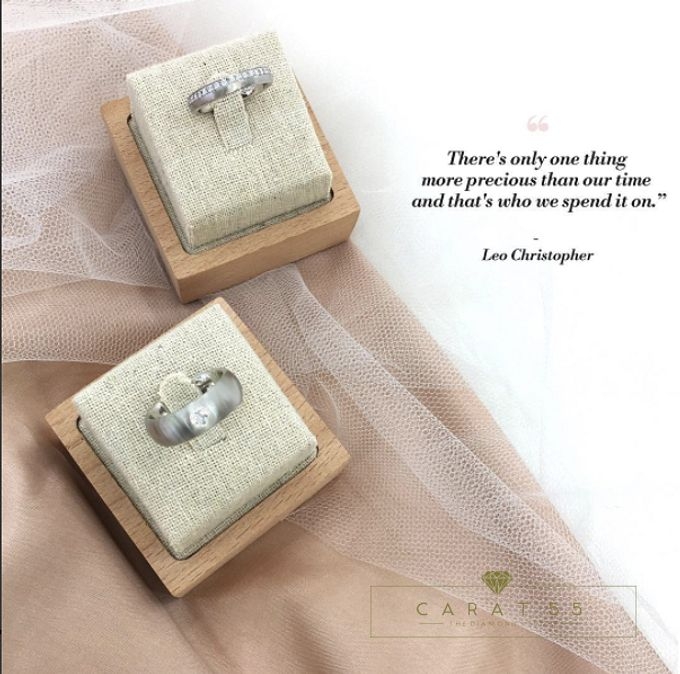 Contemporary Wedding Bands by Carat 55 - 003