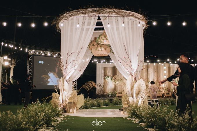 The Wedding of Budiman and Eunike by Elior Design - 011