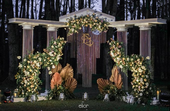 The Greek Goddess Themed Wedding of Edo and Marshella by Elior Design - 002