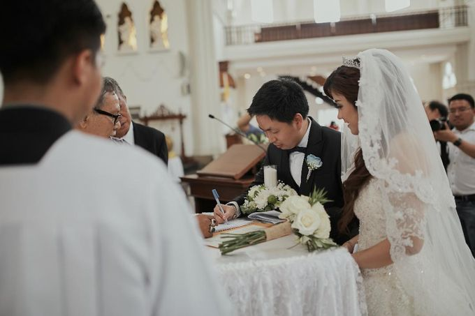 The Romance Wedding of Albert & Erissa by Khayim Beshafa One Stop Wedding - 009