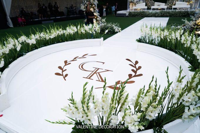 Grady & Kezia Wedding Decoration by Valentine Wedding Decoration - 010
