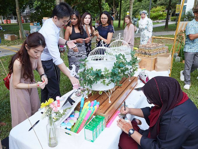 Picnic Wedding at the Park by Megu Weddings - 010