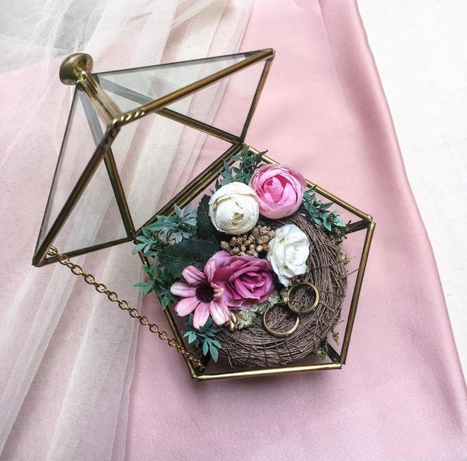 Ring Box by Rose For You - 010