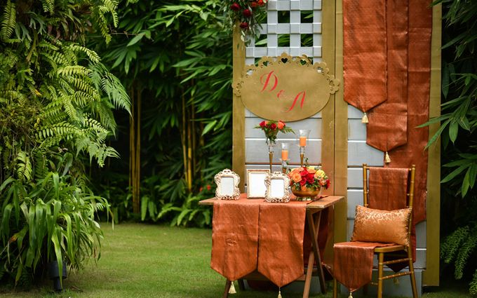 Minangkabau Traditional wedding set up at The Glass House by Tirtha Bridal - 010