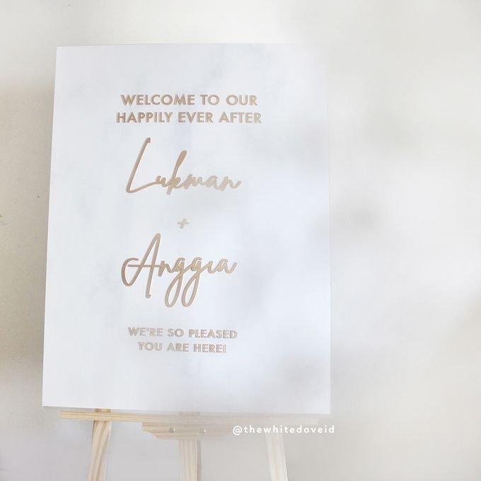 Wedding Sign by The White Dove - 003