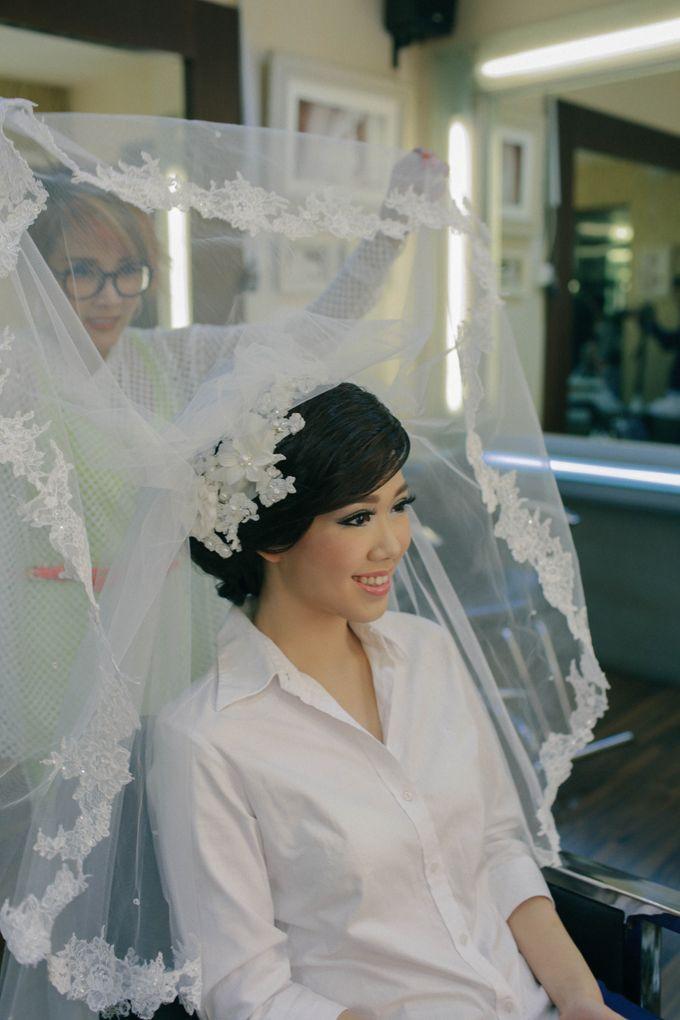 Maurice & Natasya Jakarta Wedding by Ian Vins - 002