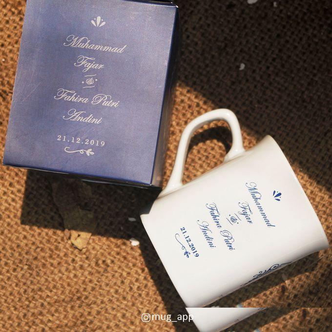 MUG NESCAFE WEDDING FAJAR & FAHIRA by Mug-App Wedding Souvenir - 004