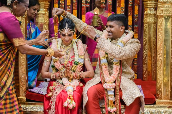 Traditional Indian Wedding of Arunn & Shalini by GrizzyPix