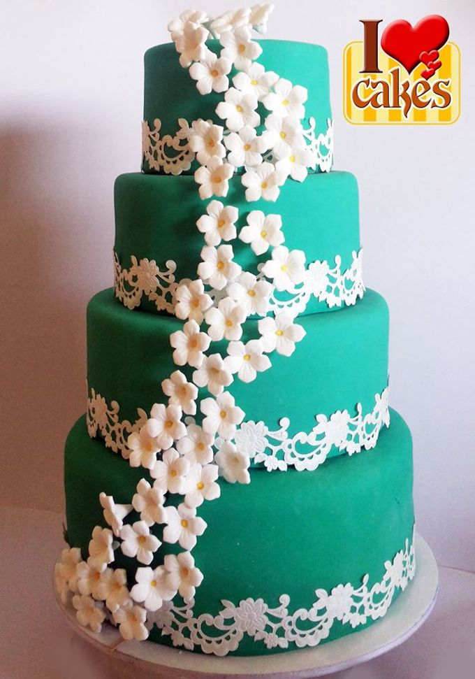 Wedding Cakes by I Love Cakes - 006