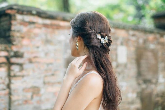 A Spring Wedding by Cleo Chang - Makeup . Hair - 005