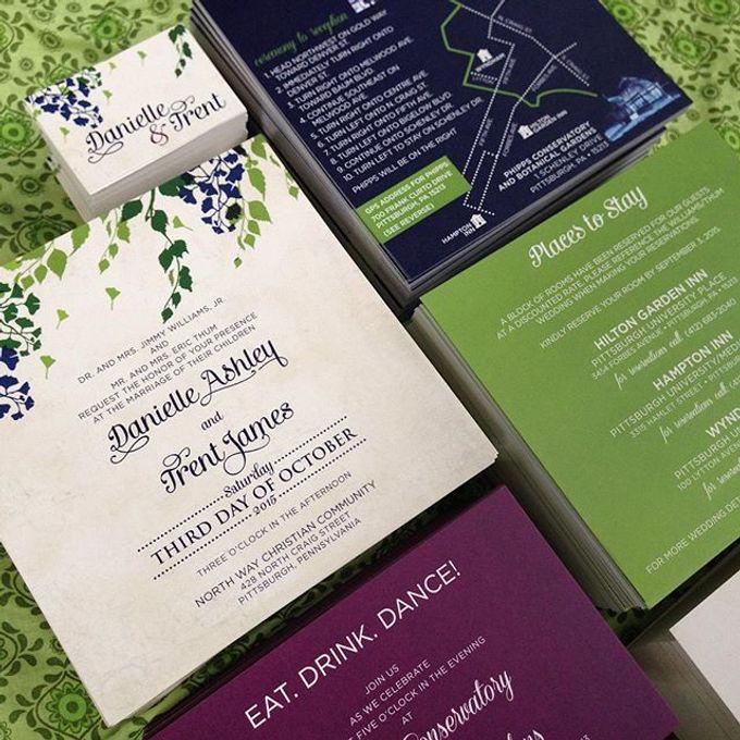 Wedding stationery portfolio  by Hello Beautiful Designs - 025