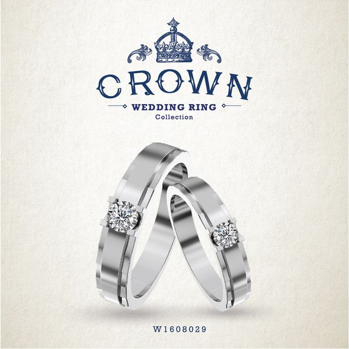 Crown Wedding Ring by Adelle Jewellery - 009