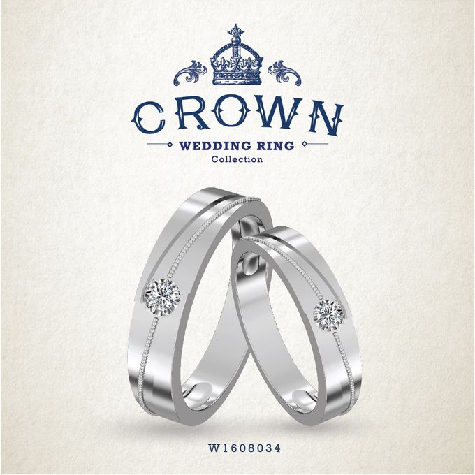 Crown Wedding Ring by Adelle Jewellery - 010