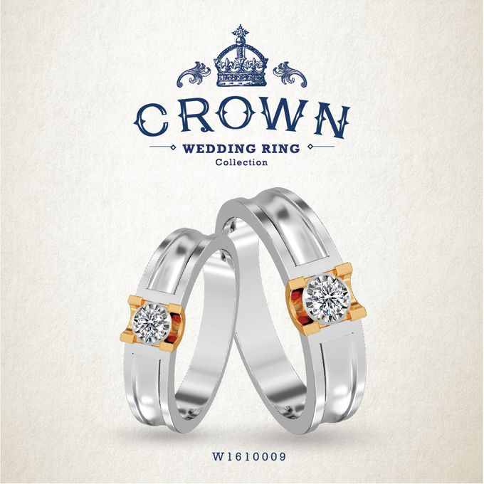 Crown Wedding Ring by Adelle Jewellery - 011