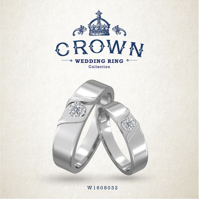 Crown Wedding Ring by Adelle Jewellery - 012