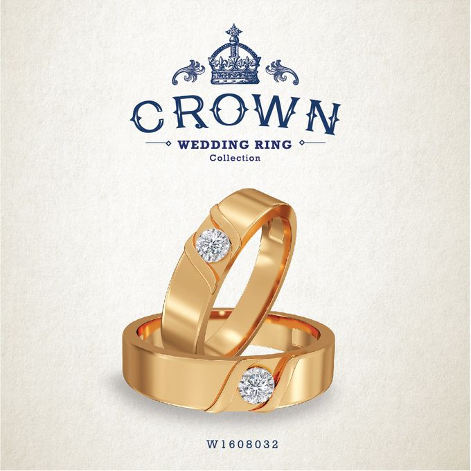 Crown Wedding Ring by Adelle Jewellery - 013